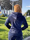 Жіночий спортивний велюровий костюм, (Туреччина *EZE*); Розміри:50,52,54,56 (наші повномірні) Колір: як на фото., фото 5