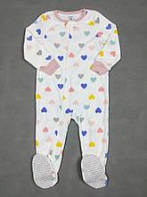 Человечек флисовый для девочки Картерс, 4Т (99-105см)