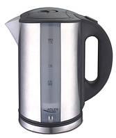 Чайник електричний електрочайник Adler AD 1216 1.7 л Silver