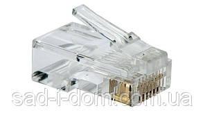 Коннектор RJ45 HLV 8P8C Cat5 Cat5e Cat6 100 шт