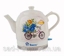 Чайник електричний чайник керамічний Domotec MS-5051 1.5 л