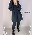 Женский спортивный костюм трехнить на флисе, фото 6