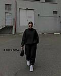 Спортивний костюм жіночий трехнить на флісі, фото 3