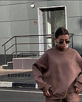 Спортивний костюм жіночий трехнить на флісі, фото 4