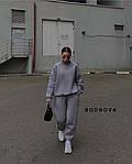 Спортивний костюм жіночий трехнить на флісі, фото 5