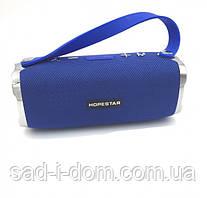 Потужна портативна Bluetooth колонка з вологозахистом Hopestar H24 Sound System Pro Blue