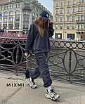 Женский спортивный костюм трехнить на флисе, фото 8