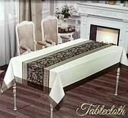 """Скатертина Monfino у валізці """"Молочно-біла"""" (150x220cm.), фото 2"""