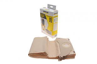 Фільтр-мішки паперові (SE 5.100/SE 6.100/WD 2 Premium Basic) (5шт) KAERCHER (Італія) 6.904-143.0
