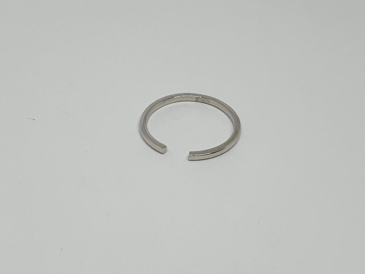 Серебряное кольцо на фалангу. Артикул 10220Р 13