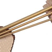 Шпилька різьбова метрична DIN 975 M18x1000 латунь