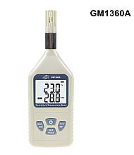 Термогигрометр Benetech GM1360A (Т: от -30 °С до 80 °С: RH:от 0 % до 100 %), USB-интерфейс, точка росы