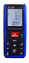 Лазерный дальномер ( лазерная рулетка ) Flus FL-100 (0,039-100 м) проводит измерения V, S, H