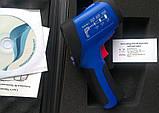 Пірометр FLUS IR-865U (-50...+1850 ºC; EMS 0,1-1,0) ПО, Кейс (50:1), фото 3