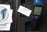 Пірометр FLUS IR-865U (-50...+1850 ºC; EMS 0,1-1,0) ПО, Кейс (50:1), фото 4
