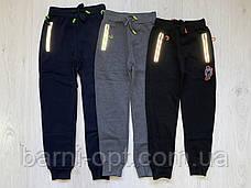 Утепленные спортивные брюки на мальчиков оптом, Taurus, 134-164 рр, фото 2