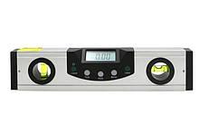 Цифровой уровень с лазером Shahe (5416-200) с цифровым угломером 90° и жидкостным уровнем. 200 мм