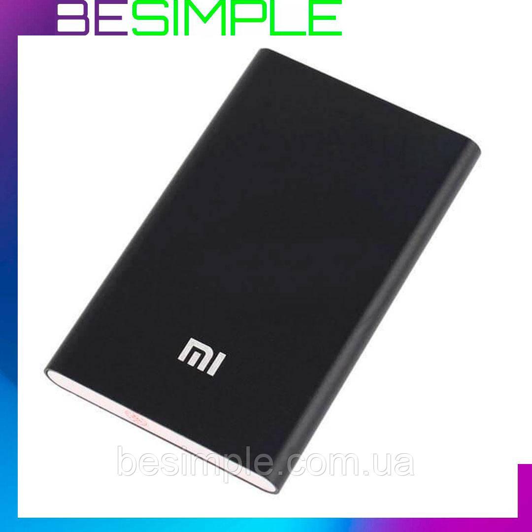 Портативна зарядка Power Bank Xiaomi 10400 mАh Slim / Повербанк Чорний