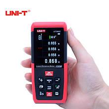 Профессиональный лазерный дальномер ( лазерная рулетка ) UNI-T UT395C (0,05-100 м)