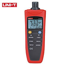 Термогигрометр UNI-T UT332+ (Т: от -20 °С до 60 °С: RH:от 0 % до 100 %), USB-интерфейс, точка росы