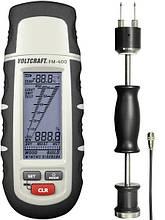 Влагомер контактный Voltcraft FM-400 с датчиком VOLTCRAFT FM-HP (0-60%; -40...+70°C). Германия