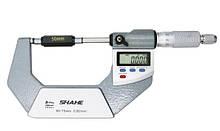 """Микрометр цифровой Shahe 50-75mm / 0-1""""0.001 (5203-75) в водозащищённом металлическом корпусе IP 65"""