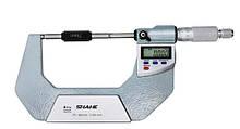 """Микрометр цифровой Shahe 75-100 mm / 0-1""""0.001 (5203-100) в водозащищённом металлическом корпусе IP 65"""
