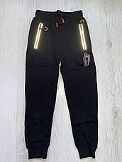 Утепленные спортивные брюки на мальчиков оптом, Taurus, 134-164 рр, фото 3