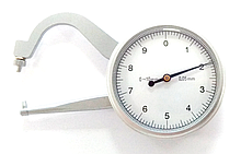 Толщиномер (стенкомер) индикаторный KM-422-101 (0-10 мм; ± 0,05 мм)