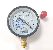 Вакуумметр ДВ 05063 (Диаметр корпуса: 63 мм; КЛ: 2.5; М12х1.5) IP40. С поверкой