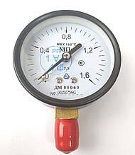 Манометр ДМ 05063 1.6 МПа (Диаметр 63 мм; кл. точности 2,5) ТУ.У 33.2 - 14307481-031:2005 G1/4