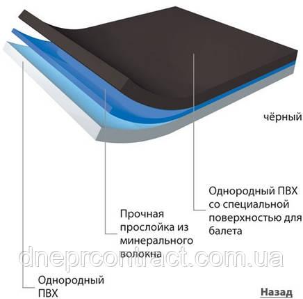 Балетный линолеум Арлекин КАСКАД™, фото 2
