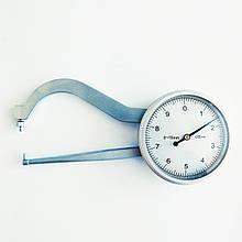 Толщиномер (стенкомер) индикаторный KM-422-104 (0-10 мм; ± 0,01 мм)