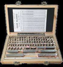 Концевые меры длины KM-GB87 (1.001-100мм/2 класс точности) - 87 шт. С сертификатом о калибровке