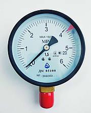 Манометр ДМ 05100 (до 6,0 мПа; кл. точности 1,5; М20x1,5) Украина.