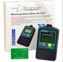 Толщиномер лакокрасочных покрытий  GL-3UV (0 мкм до 2000 мкм)