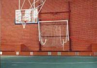 Ворота для минифутбола или гандбола 3000х2000 стальные, вертикально-подъемные.