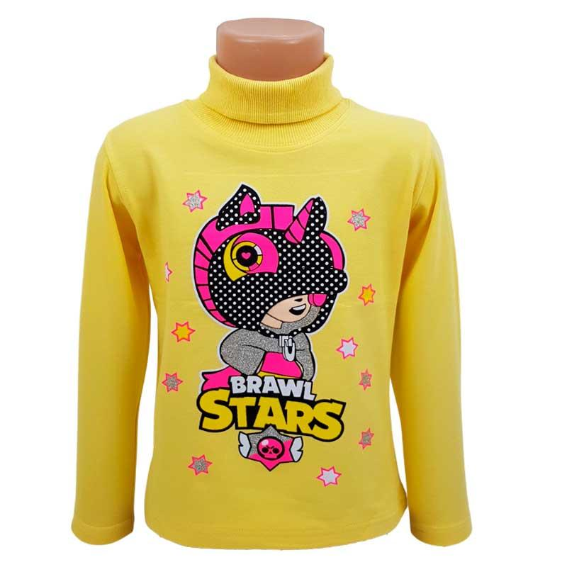 """Гольф для девочки на байке """"Brawl Stars"""" 98-116 (3-6л.) 6801"""