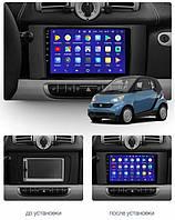 Штатна Android Магнітола на Mercedes Benz Smart Fortwo 2 2010-2015 Model T3-solution (М-МВСФ2-9-Т3), фото 1