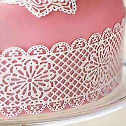 Кружево для торта