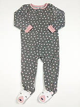 Человечек флисовый для девочки Картерс, 5Т (105-112см)