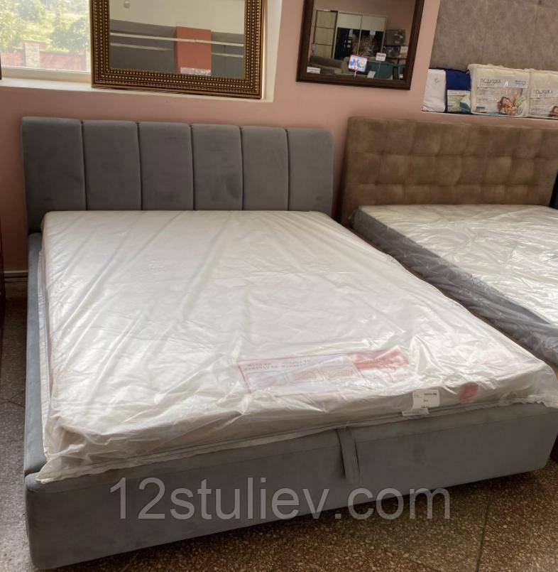 М'яке ліжко Кароліна 6 з підйомним механізмом Світ Меблів 160 * 200