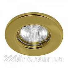 Вбудований світильник Feron DL10 золото