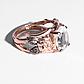 Аметист зеленый серебряное кольцо, 2794КЦА, фото 2