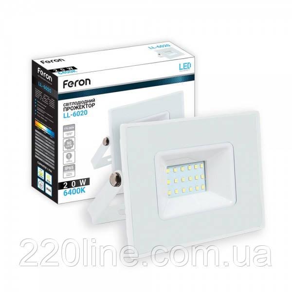 Светодиодный прожектор Feron LL-6020 20W