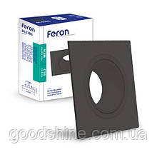 Вбудований поворотний світильник Feron DL0380 чорний