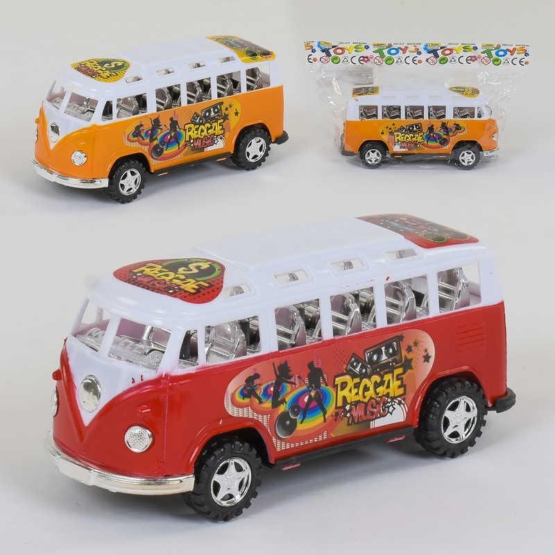 Автобус іграшковий інерційний, 2 кольори, 595-14