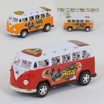 Автобус іграшковий інерційний, 2 кольори, 595-14, фото 2