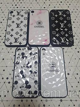 Чехол Кристалл Бренд (силикон + пластик) для Apple iPhone XR