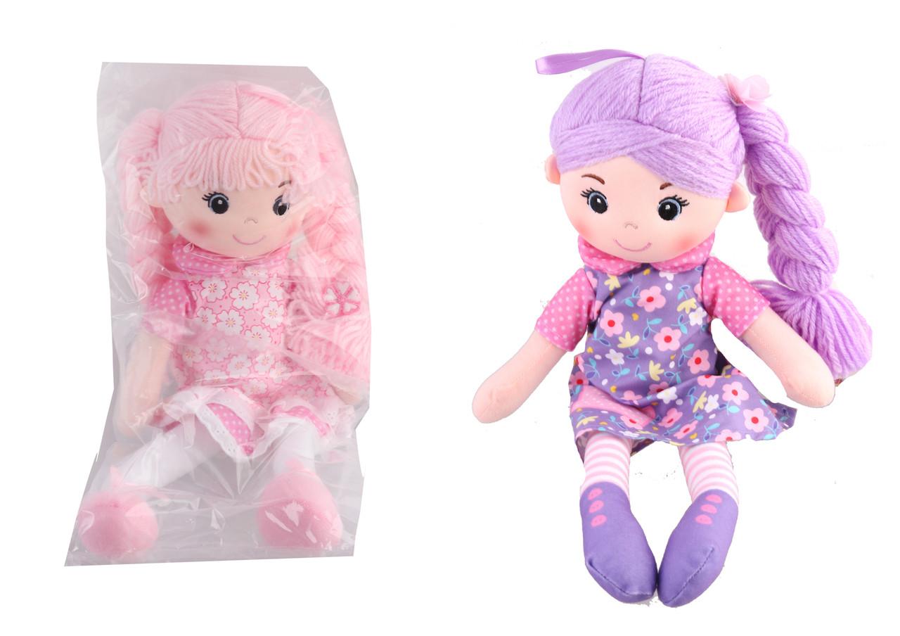 Лялька м'яка, 40 см, 2 види, A-63177